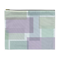 Abstract Background Pattern Design Cosmetic Bag (XL)
