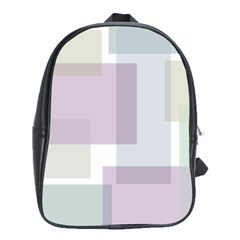 Abstract Background Pattern Design School Bags(Large)