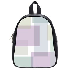 Abstract Background Pattern Design School Bags (Small)