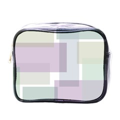 Abstract Background Pattern Design Mini Toiletries Bags