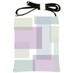 Abstract Background Pattern Design Shoulder Sling Bags