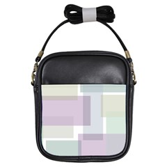 Abstract Background Pattern Design Girls Sling Bags