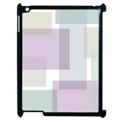 Abstract Background Pattern Design Apple iPad 2 Case (Black)