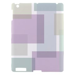 Abstract Background Pattern Design Apple iPad 3/4 Hardshell Case