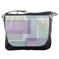 Abstract Background Pattern Design Messenger Bags