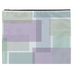 Abstract Background Pattern Design Cosmetic Bag (XXXL)