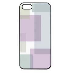 Abstract Background Pattern Design Apple iPhone 5 Seamless Case (Black)