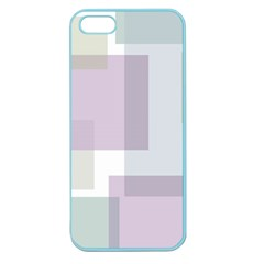 Abstract Background Pattern Design Apple Seamless iPhone 5 Case (Color)