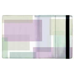 Abstract Background Pattern Design Apple iPad 3/4 Flip Case