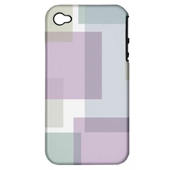 Abstract Background Pattern Design Apple iPhone 4/4S Hardshell Case (PC+Silicone)