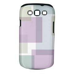 Abstract Background Pattern Design Samsung Galaxy S III Classic Hardshell Case (PC+Silicone)