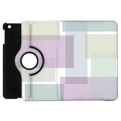 Abstract Background Pattern Design Apple iPad Mini Flip 360 Case