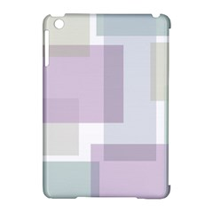 Abstract Background Pattern Design Apple iPad Mini Hardshell Case (Compatible with Smart Cover)