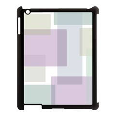 Abstract Background Pattern Design Apple iPad 3/4 Case (Black)