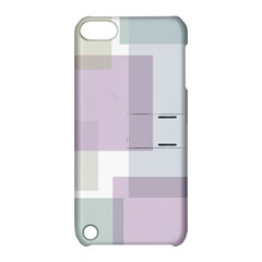 Abstract Background Pattern Design Apple iPod Touch 5 Hardshell Case with Stand