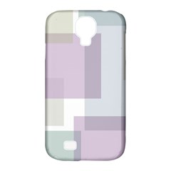 Abstract Background Pattern Design Samsung Galaxy S4 Classic Hardshell Case (PC+Silicone)