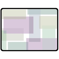 Abstract Background Pattern Design Double Sided Fleece Blanket (Large)
