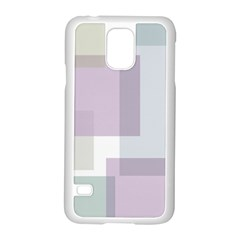 Abstract Background Pattern Design Samsung Galaxy S5 Case (White)