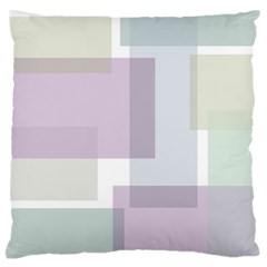 Abstract Background Pattern Design Large Flano Cushion Case (One Side)