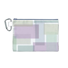 Abstract Background Pattern Design Canvas Cosmetic Bag (M)