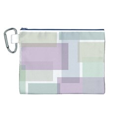 Abstract Background Pattern Design Canvas Cosmetic Bag (L)