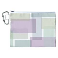 Abstract Background Pattern Design Canvas Cosmetic Bag (XXL)