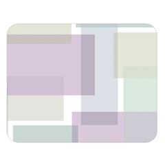 Abstract Background Pattern Design Double Sided Flano Blanket (Large)