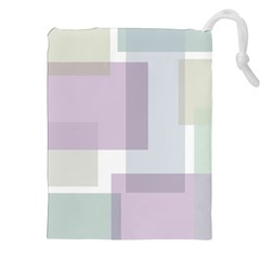 Abstract Background Pattern Design Drawstring Pouches (XXL)