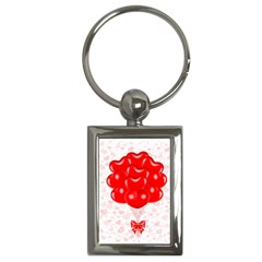 Abstract Background Balloon Key Chains (Rectangle)