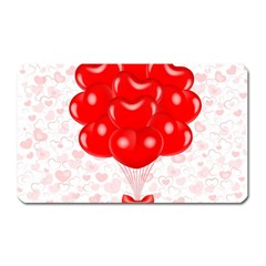 Abstract Background Balloon Magnet (Rectangular)