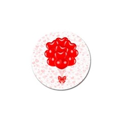 Abstract Background Balloon Golf Ball Marker (4 pack)