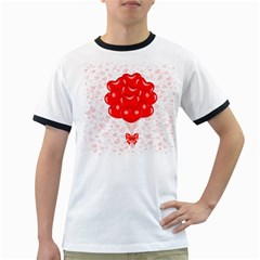 Abstract Background Balloon Ringer T-Shirts