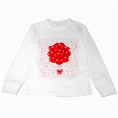 Abstract Background Balloon Kids Long Sleeve T-Shirts