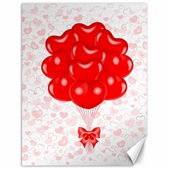 Abstract Background Balloon Canvas 12  x 16