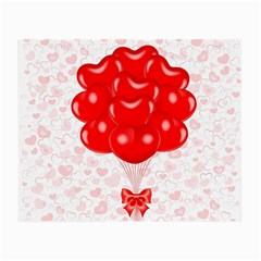 Abstract Background Balloon Small Glasses Cloth (2-Side)