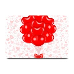 Abstract Background Balloon Plate Mats