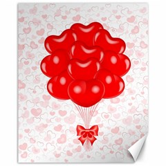 Abstract Background Balloon Canvas 11  x 14