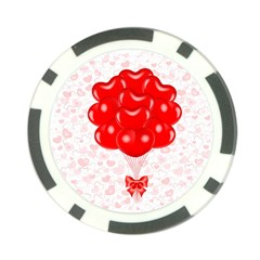 Abstract Background Balloon Poker Chip Card Guards