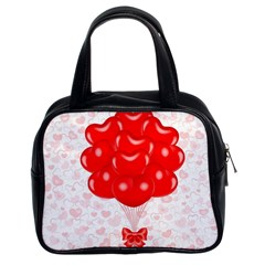 Abstract Background Balloon Classic Handbags (2 Sides)