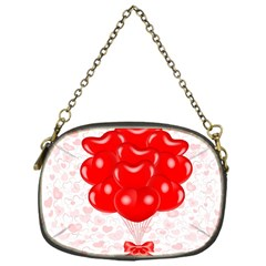 Abstract Background Balloon Chain Purses (One Side)