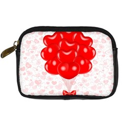 Abstract Background Balloon Digital Camera Cases