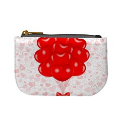 Abstract Background Balloon Mini Coin Purses