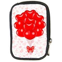 Abstract Background Balloon Compact Camera Cases