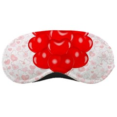 Abstract Background Balloon Sleeping Masks