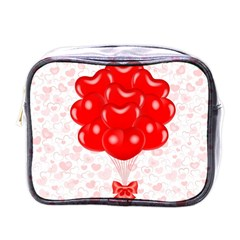 Abstract Background Balloon Mini Toiletries Bags