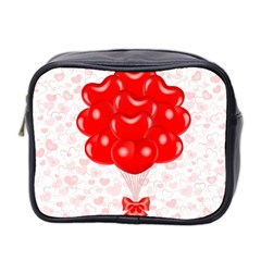 Abstract Background Balloon Mini Toiletries Bag 2-Side