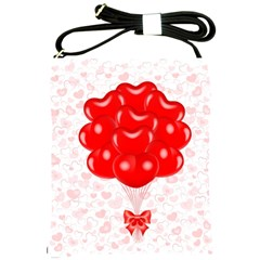 Abstract Background Balloon Shoulder Sling Bags