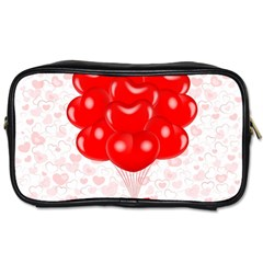 Abstract Background Balloon Toiletries Bags 2-Side