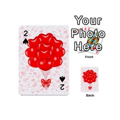 Abstract Background Balloon Playing Cards 54 (Mini)