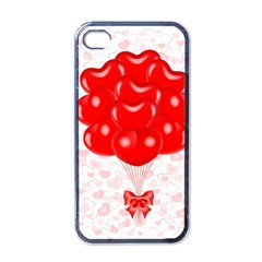 Abstract Background Balloon Apple iPhone 4 Case (Black)